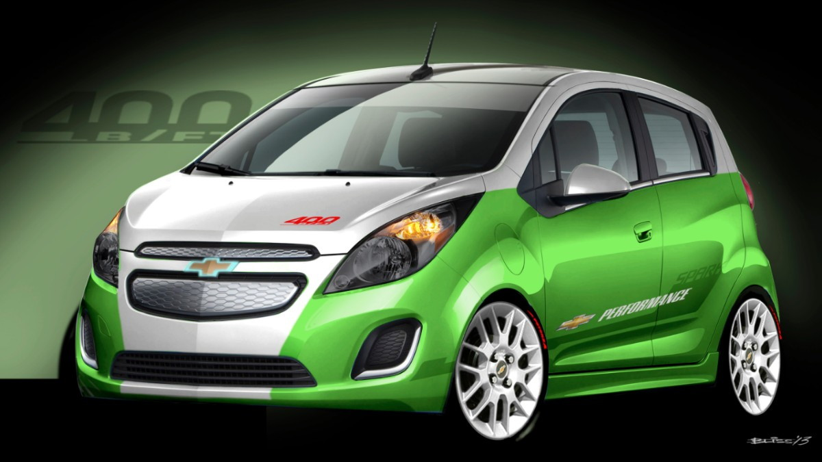 2014 Chevrolet Spark EV Tech Performance SEMA concept