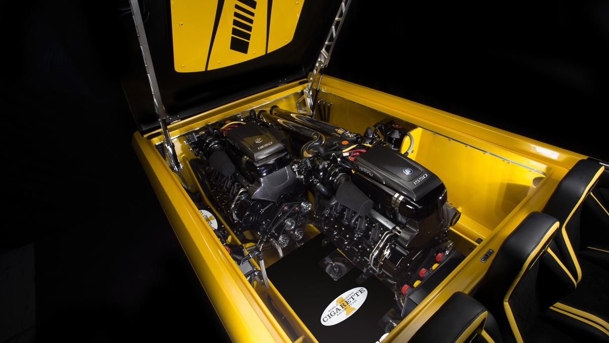 AMG GT S Cigarette Boat