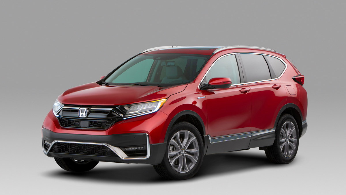 Honda CR-V Adds a Hybrid Model and Gets a New Look