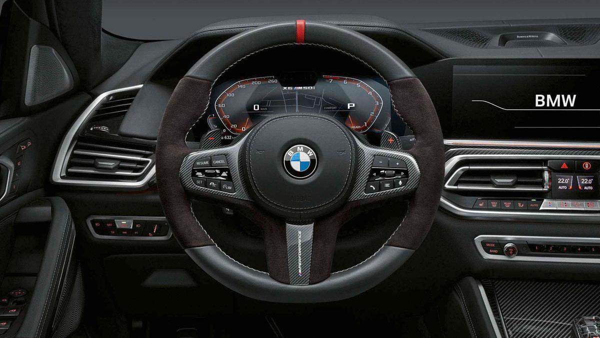 2020 BMW X6, X7, X5 M X6 M M Performance accesories