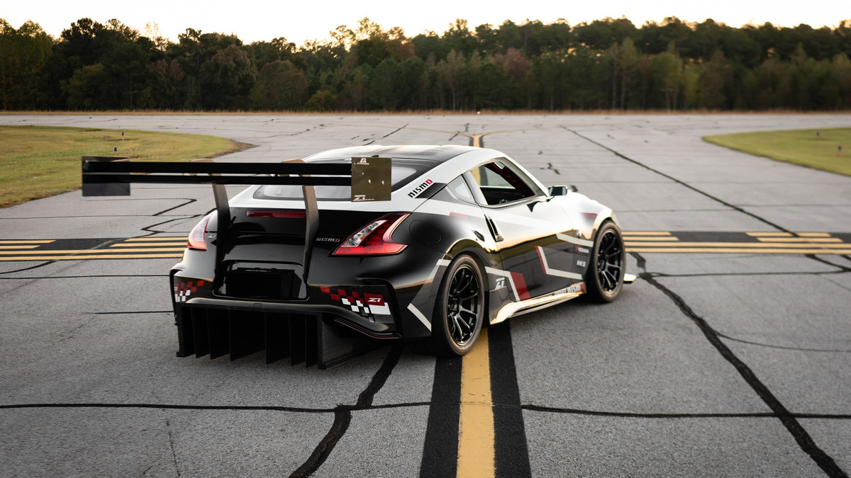 Nissan Global Time Attack TT 370Z