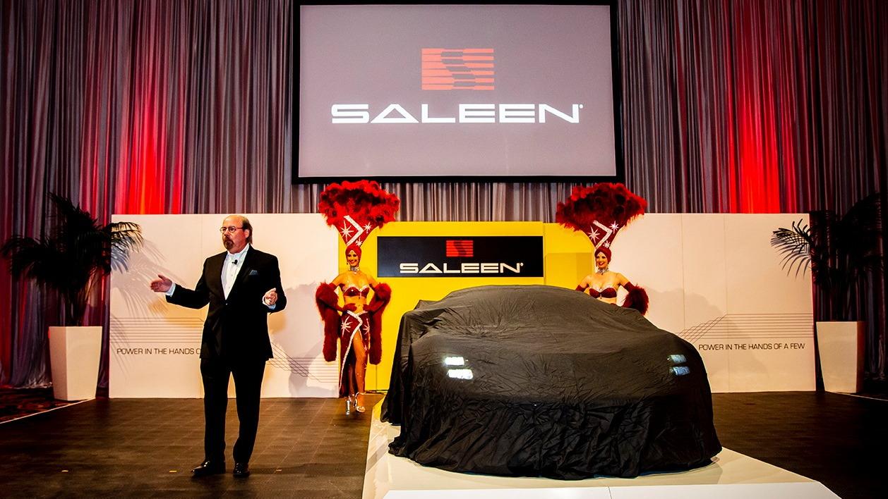 Saleen GT4 Concept Race Car