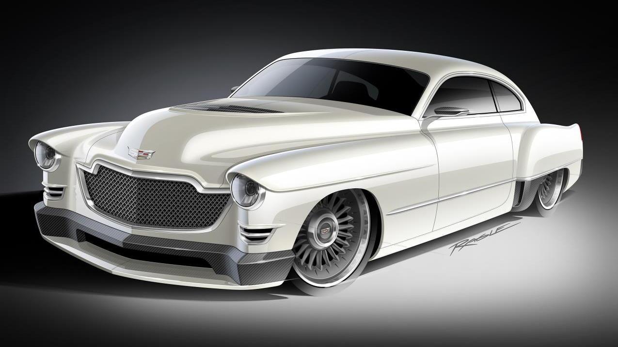 The Ringbrothers 1948 Cadillac Madam V