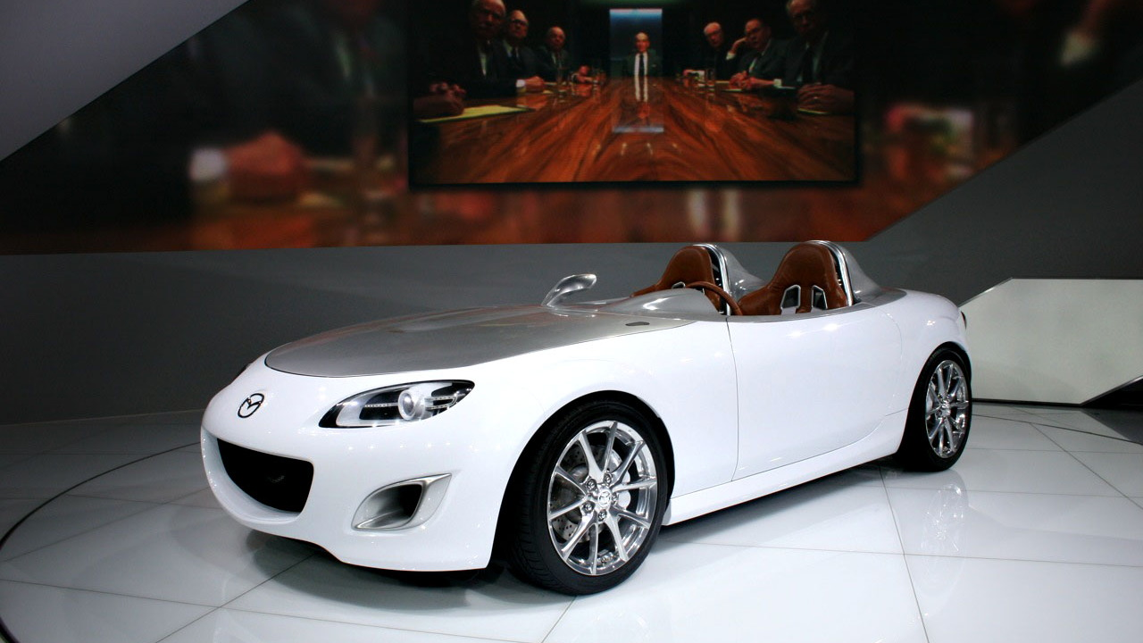 2009 Mazda MX-5 Miata Superlight concept