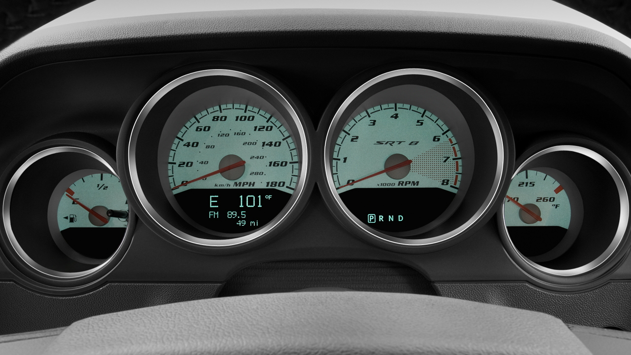 2010 Dodge Challenger 2-door Coupe SRT8 Instrument Cluster