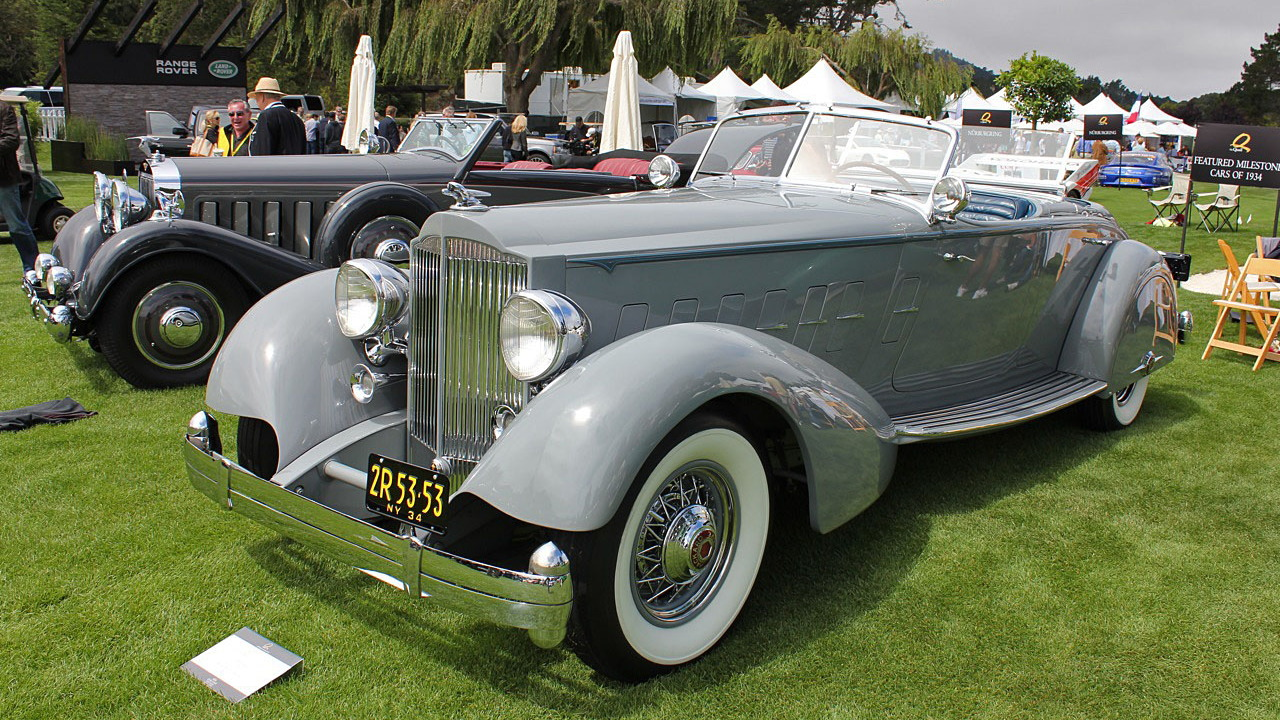 Quail 2010: A Pair of Packards