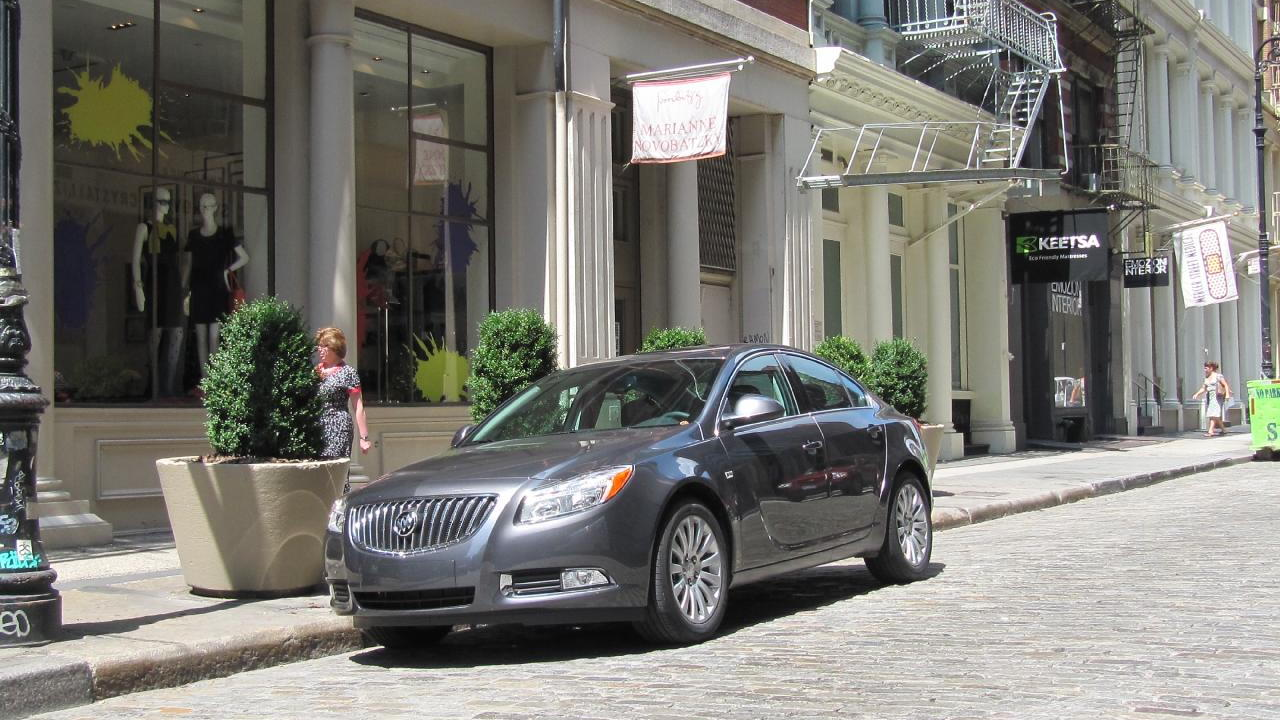 2011 Buick Regal CXL in New York City's Soho district
