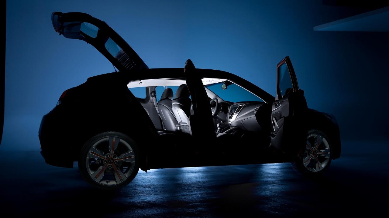 2012 Hyundai Veloster official teaser