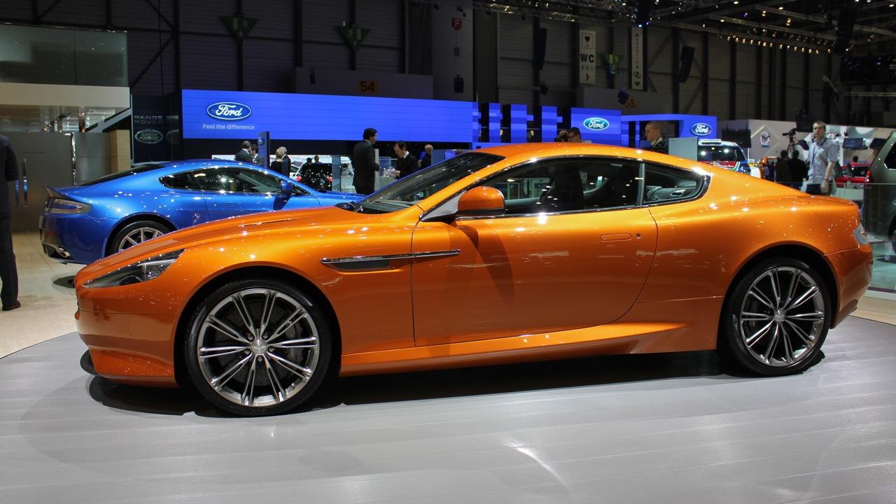 2012 Aston Martin Virage live photos