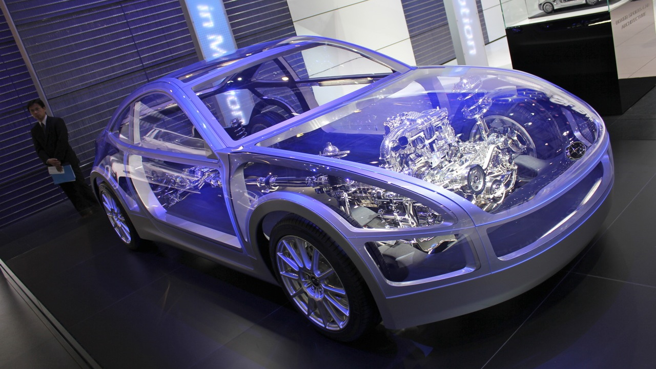 Subaru Boxer Sports Car Architecture live photos