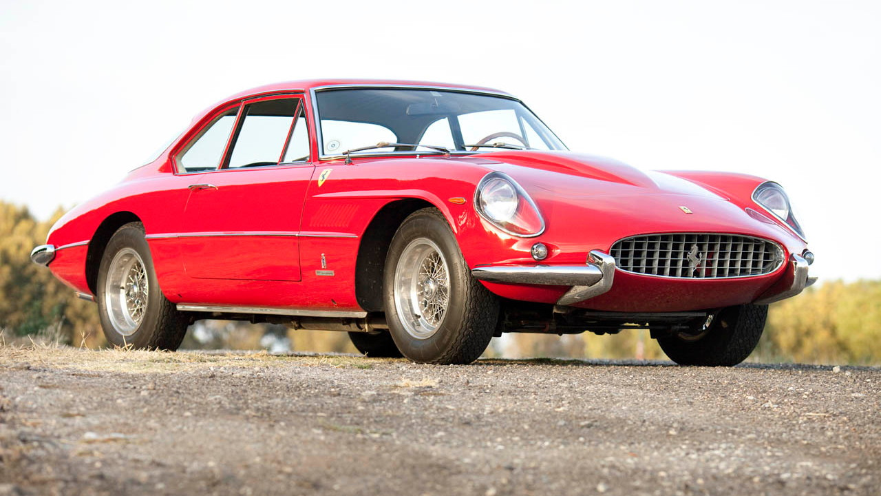 1963 Ferrari 400 Superamerica Coupe Aerodinamcia. Photo via Gooding & Co.