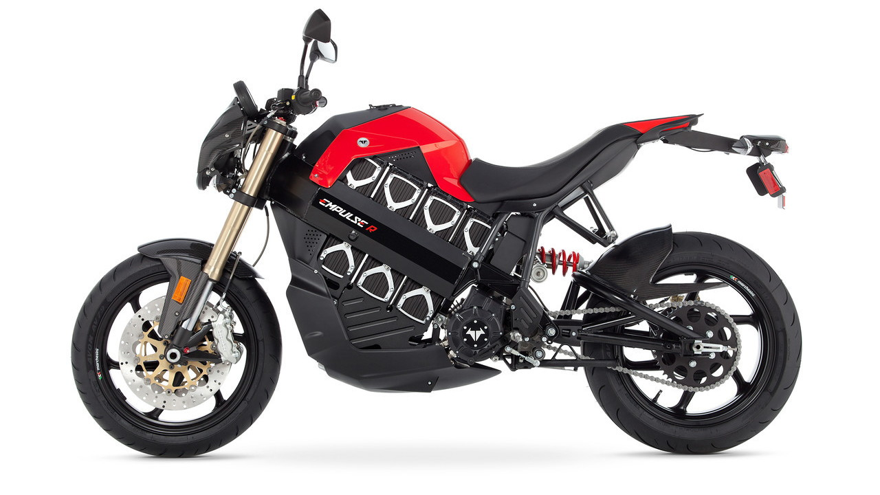 Brammo Empulse R electric motorcycle