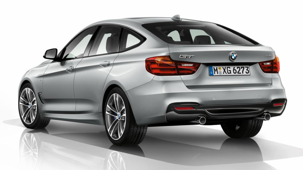 Leaked images of the BMW 3 Series Gran Turismo