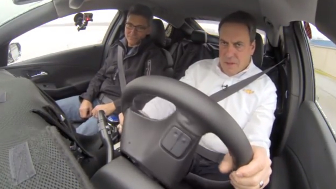 Mark Reuss drives the 2016 Chevrolet Volt