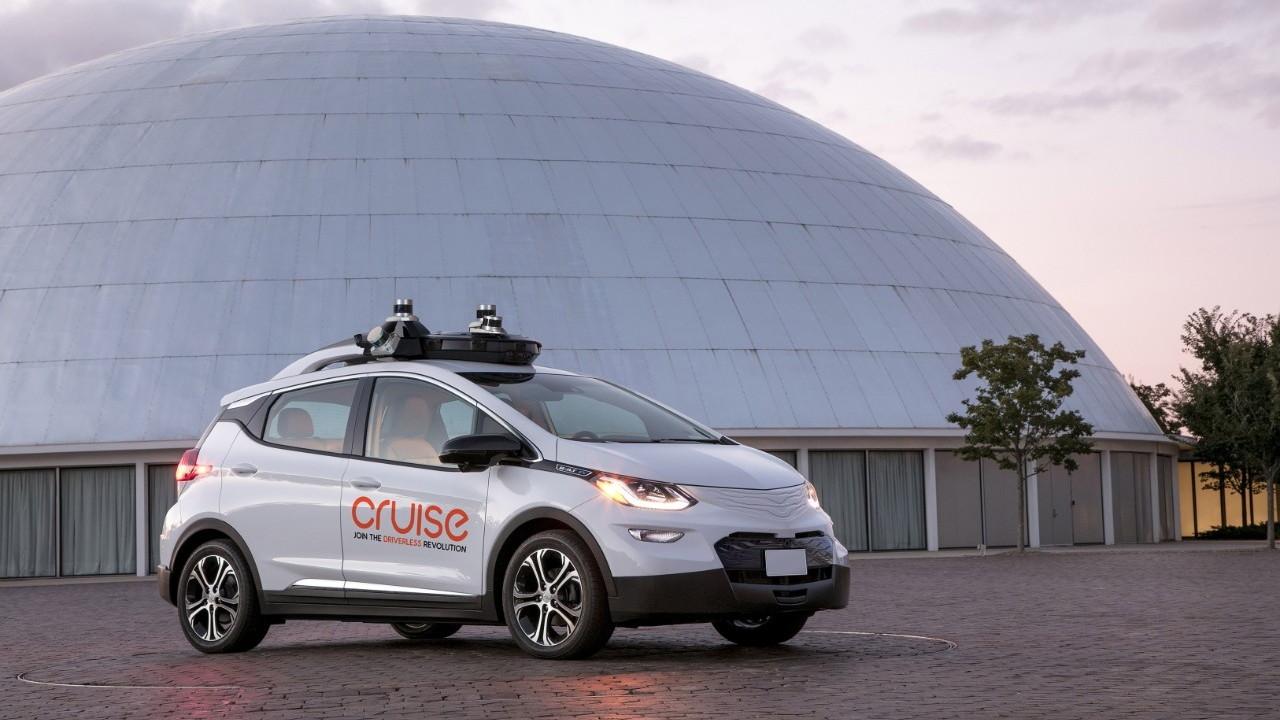 GM Cruise Automation self-driving Bolt EV