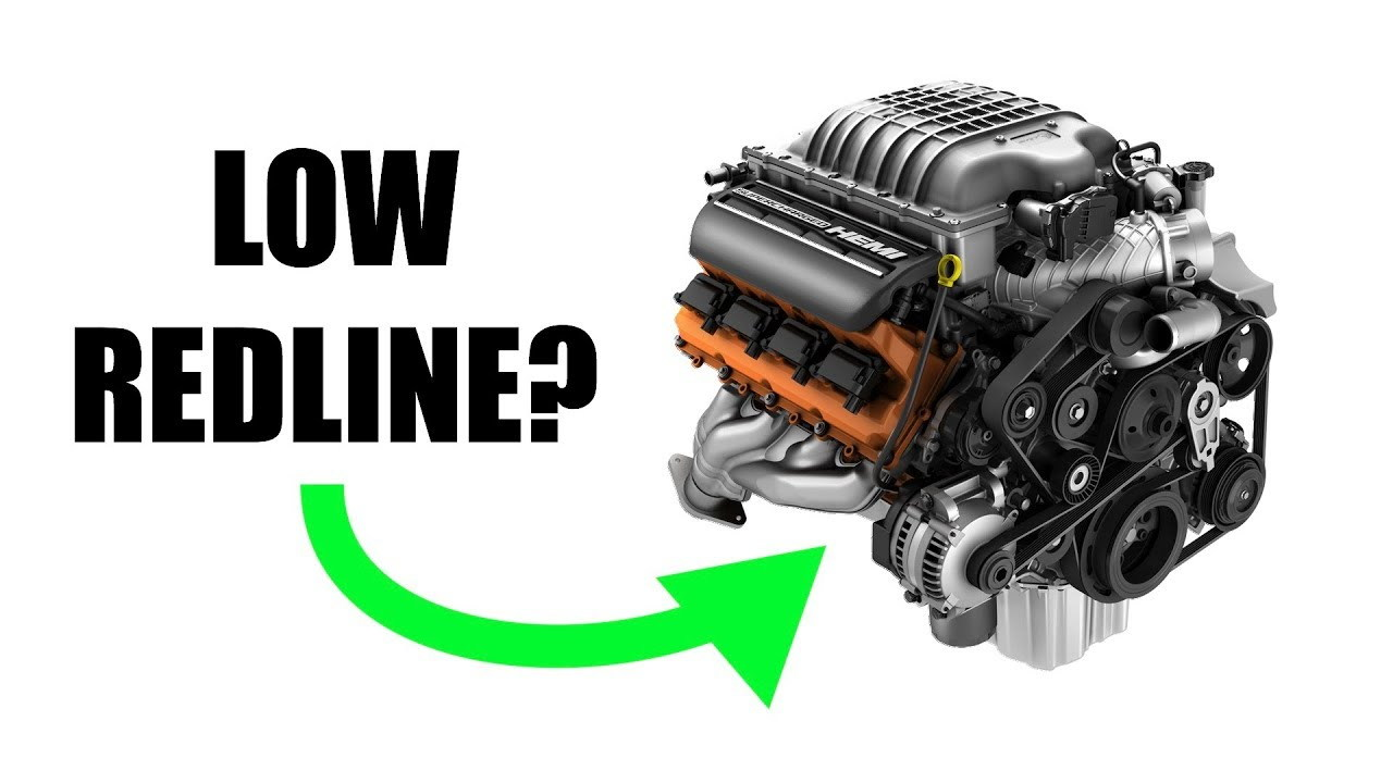 Why don't pushrod engines have high redlines?