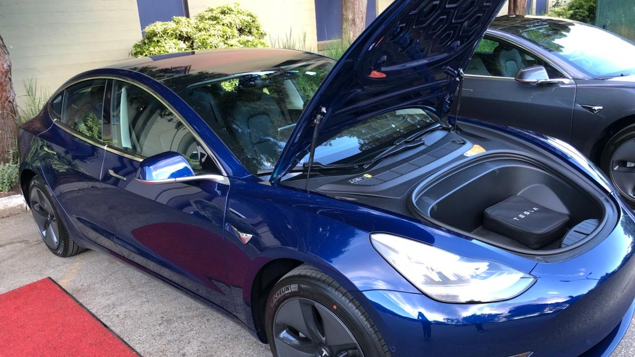 Canadian reader K's new Tesla Model 3