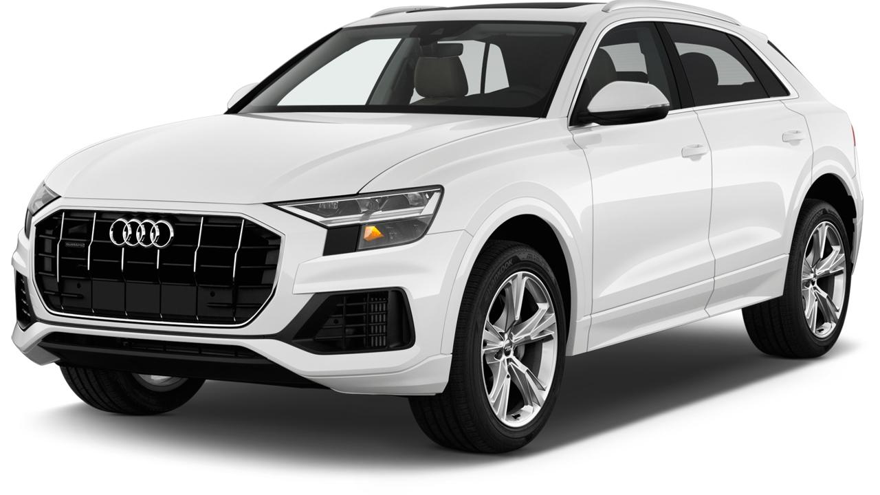 2019 Audi Q8 3.0 TFSI Premium Angular Front Exterior View
