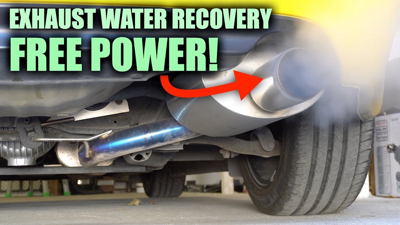 Exhaust water recovery system, Engineering Explained