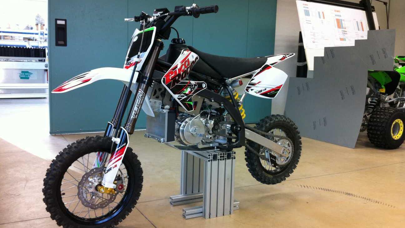 Brammo Encite MMX Pro prototype electric motorcycle