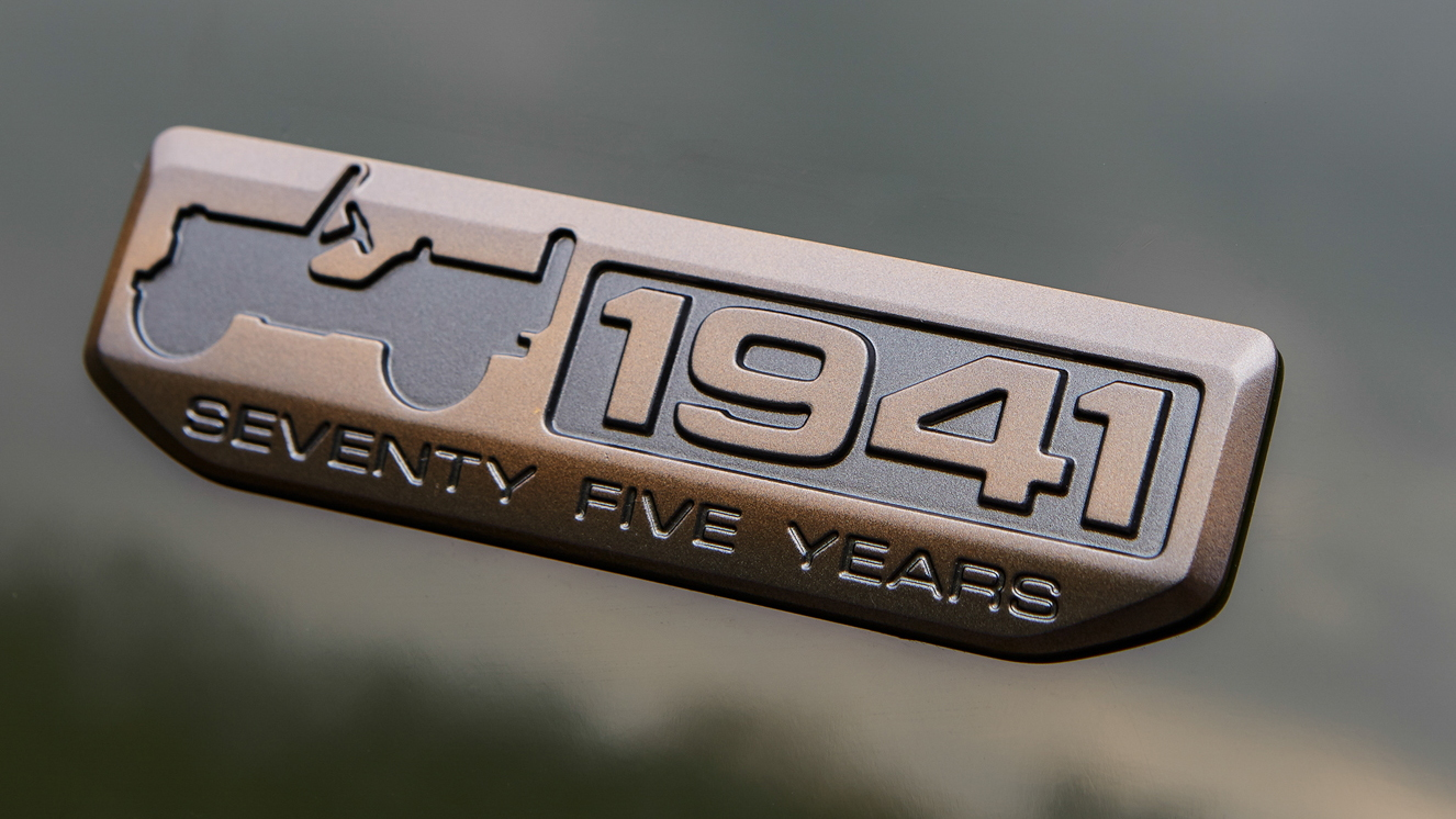 Jeep 75th Anniversary Badge