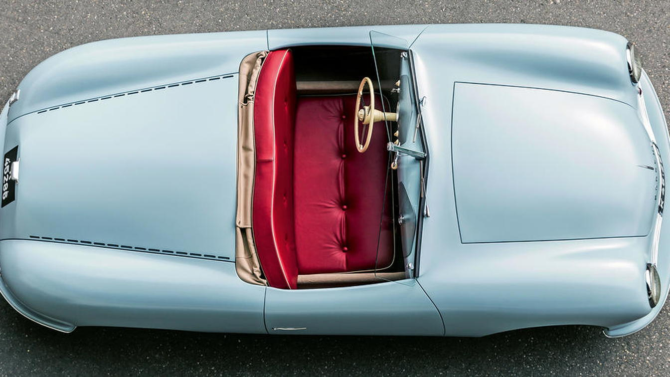 Porsche replicated its 356 No 1 Roadster