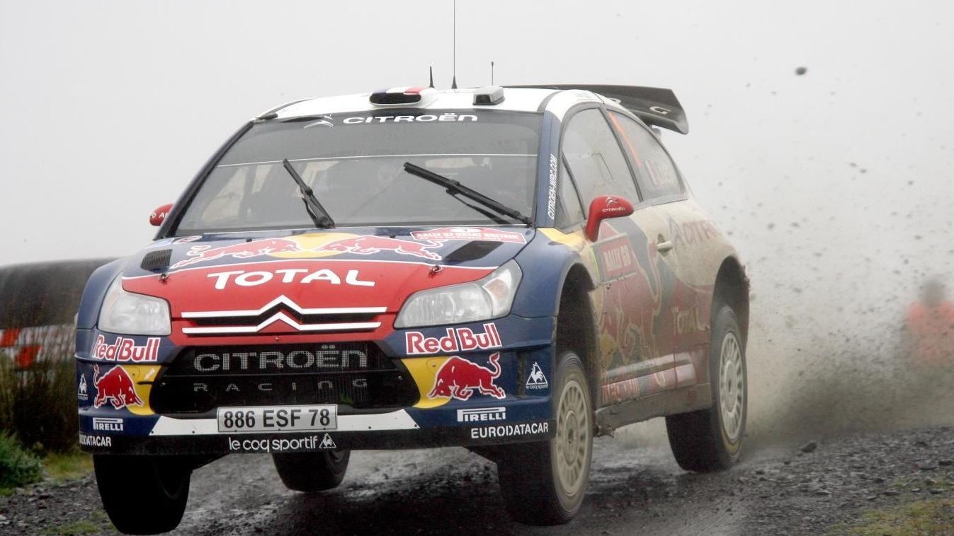 Sebastian Loeb, 2009 Wales Rally GB