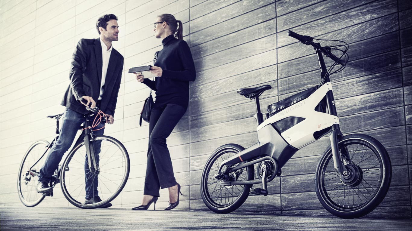Peugeot AE21 e-bike hybrid bicycle