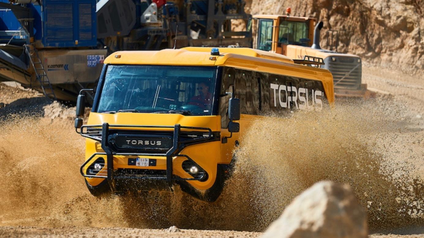 Torsus Praetorian off-road bus