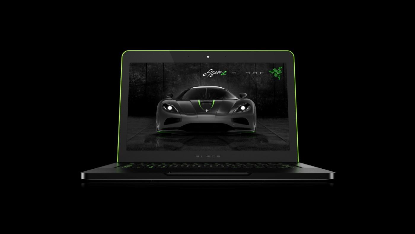 Koenigsegg Razer Blade laptop