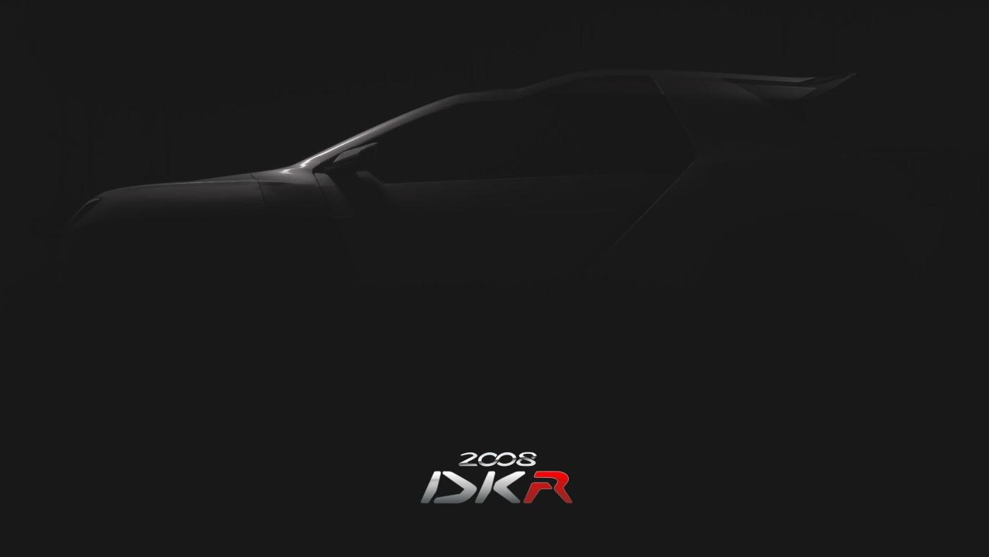 Peugeot 2008 DKR -  2015 Dakar Rally car