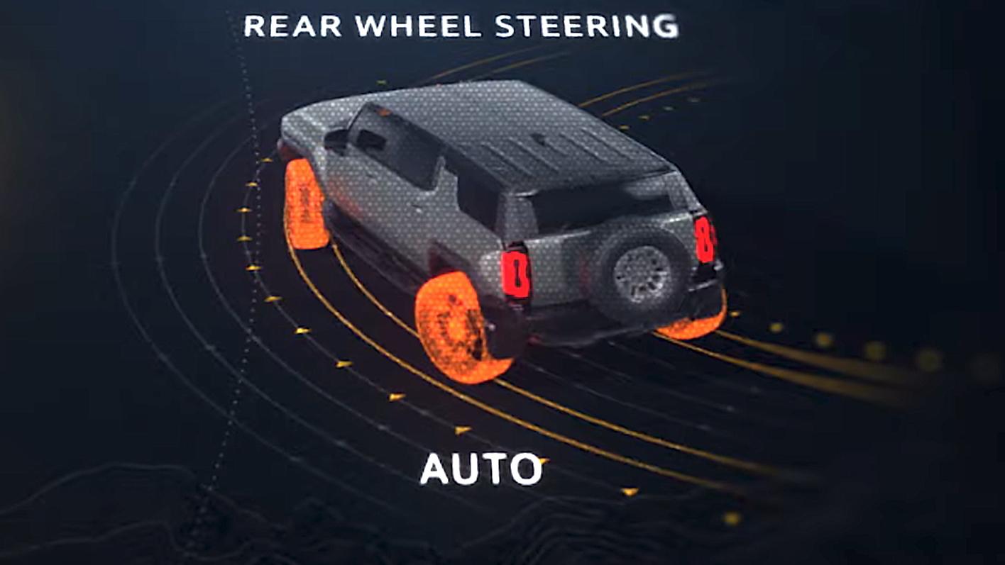 2024 Hummer EV SUV  -  4WS