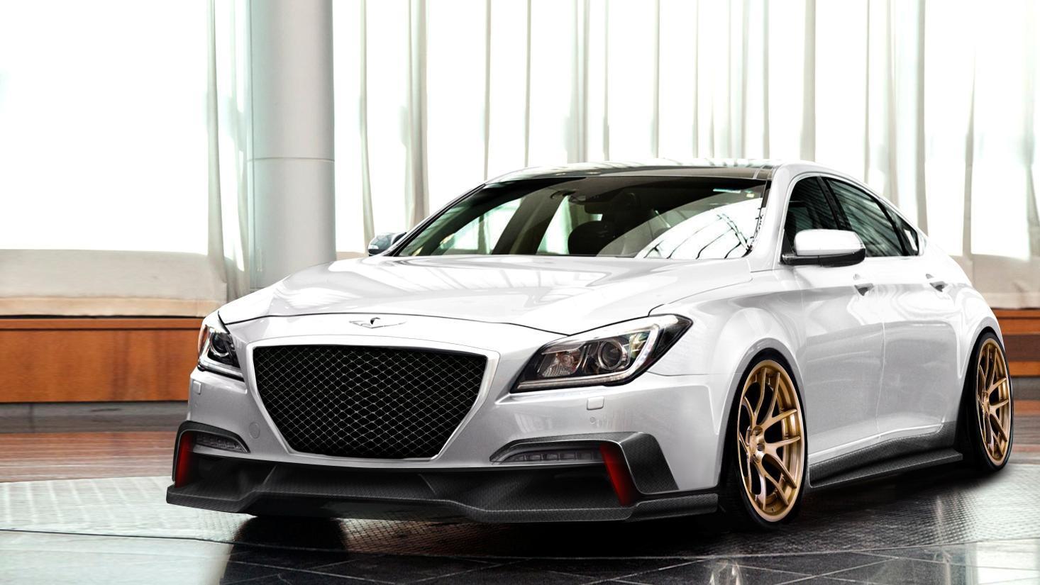 2015 Hyundai Genesis by ARK Performance, 2014 SEMA