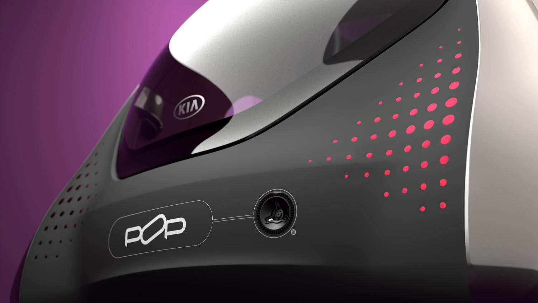 Kia Pop electric-car concept, 2010 Paris Motor Show