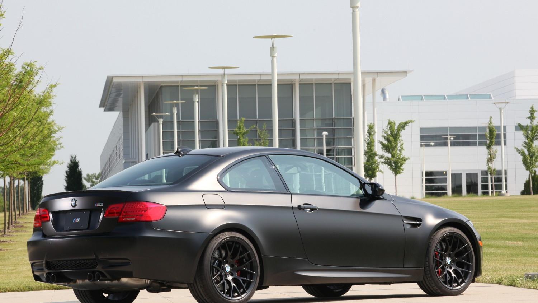 BMW's Frozen Black M3 Coupe. Image: BMW