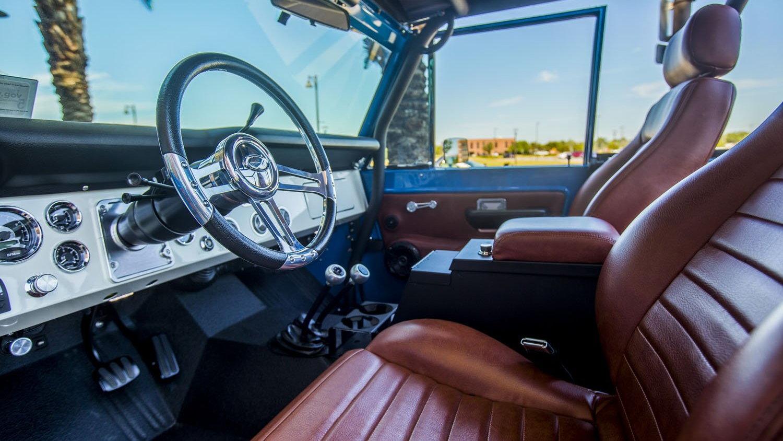 1976 Ford Bronco restoration by Velocity Restorations