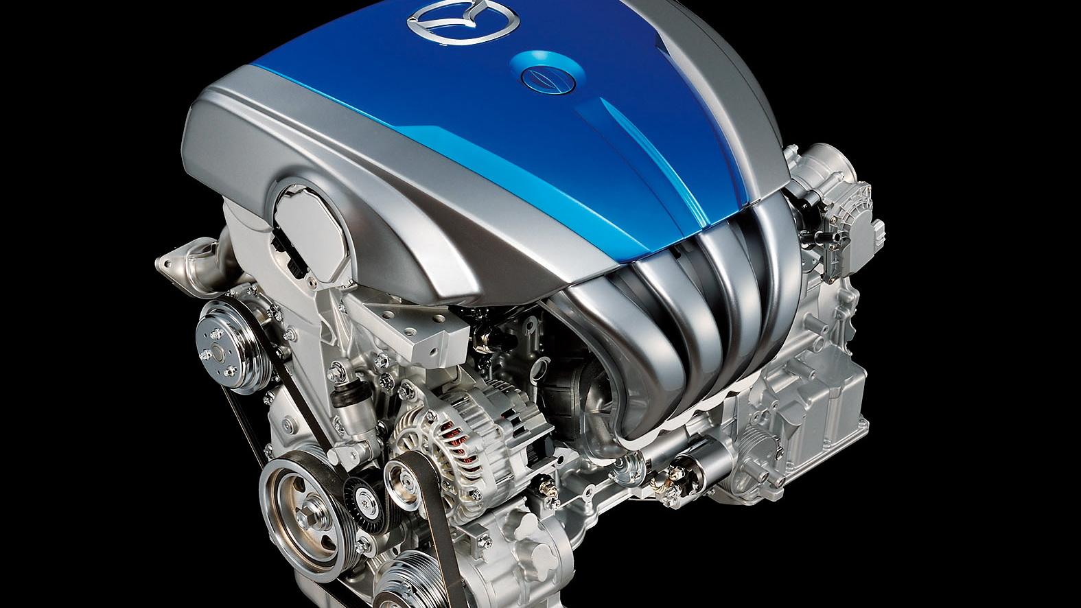 Mazda SKY-D diesel four-cylinder engine
