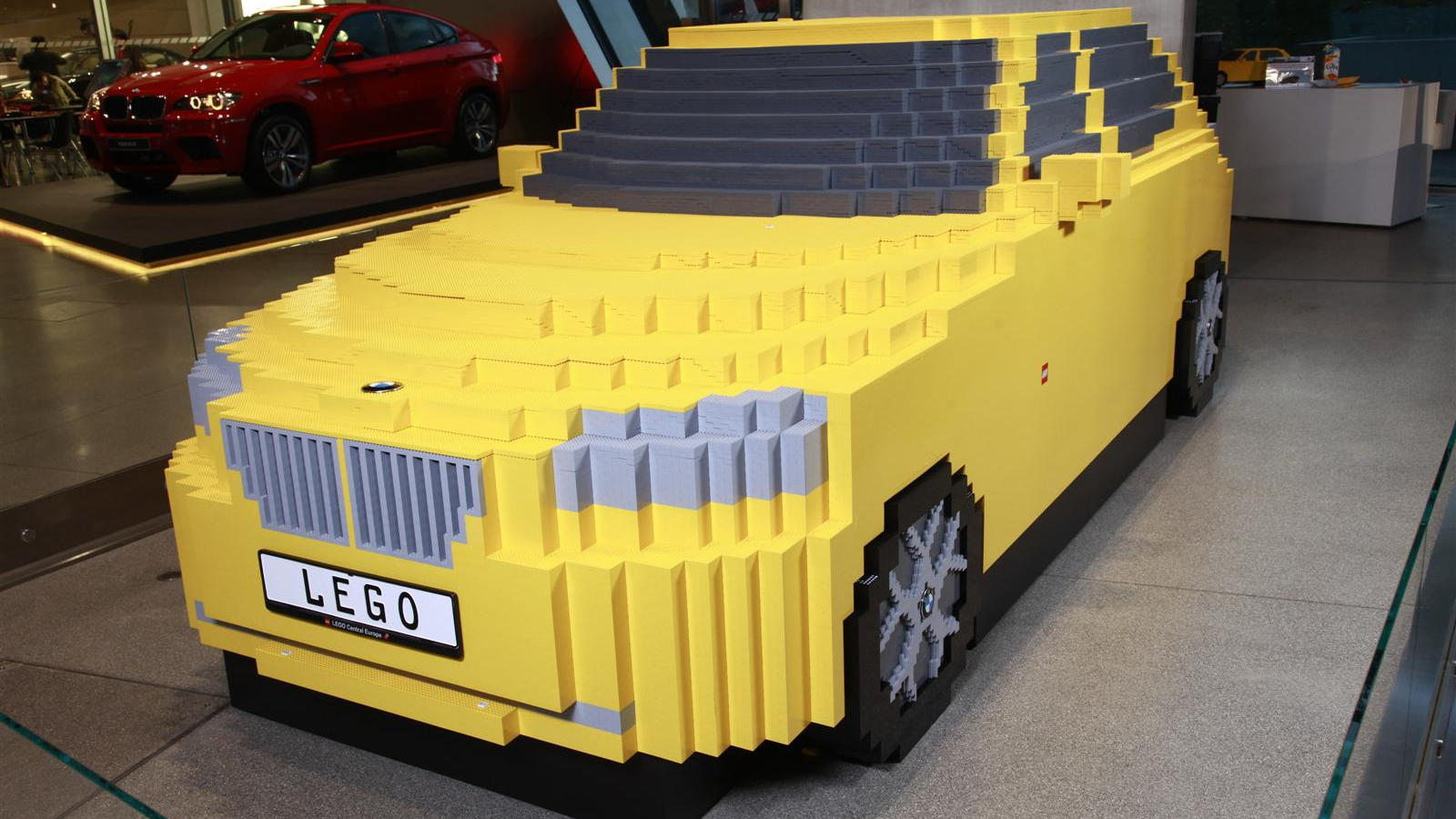 BMW X1 LEGO Sculpture