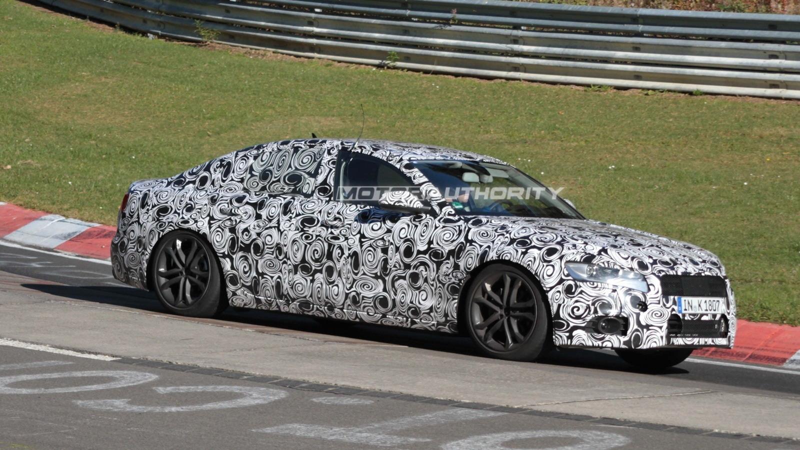 2012 Audi A6 spy shots