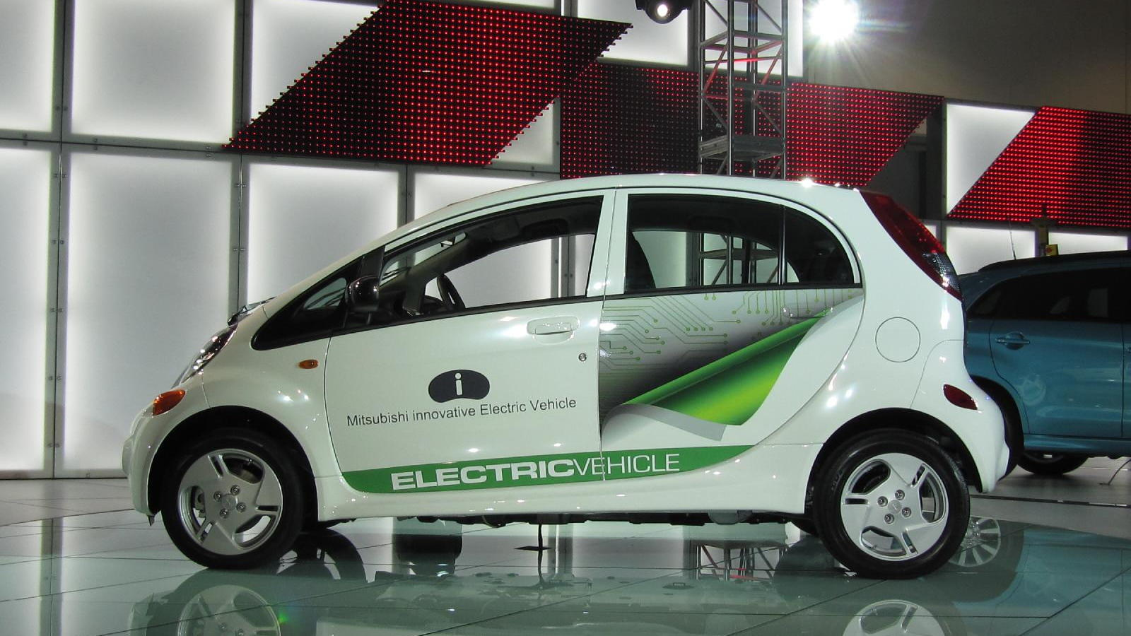 "2012 Mitsubishi ""i"" electric car, powered by MiEV, launch event at 2010 Los Angeles Auto Show"