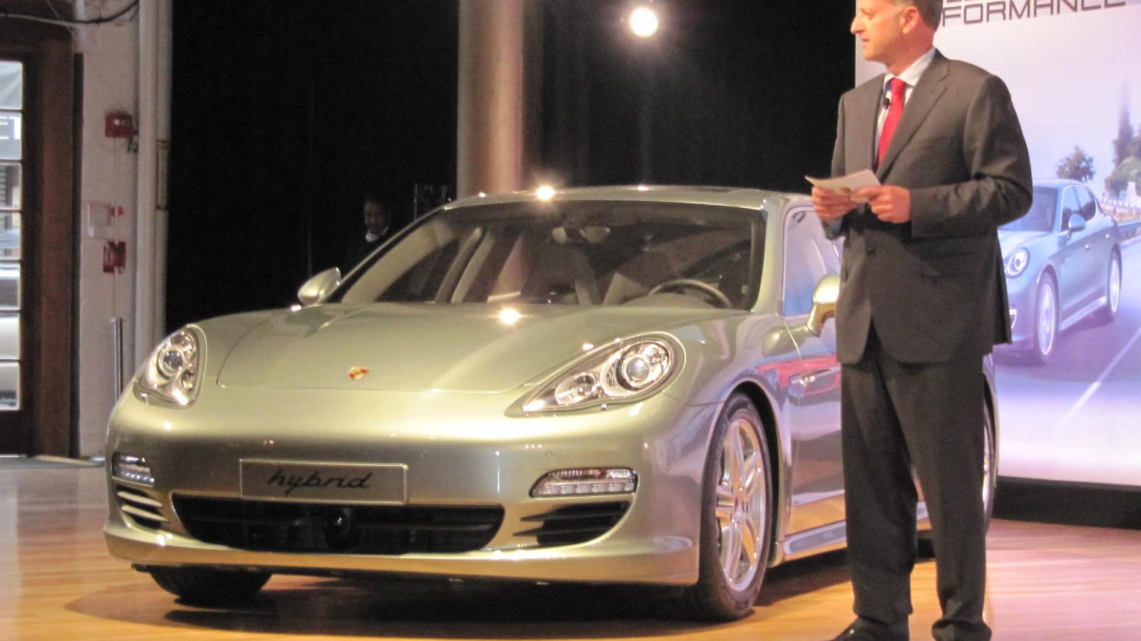 2012 Porsche Panamera S Hybrid launch, New York Auto Show, April 2011