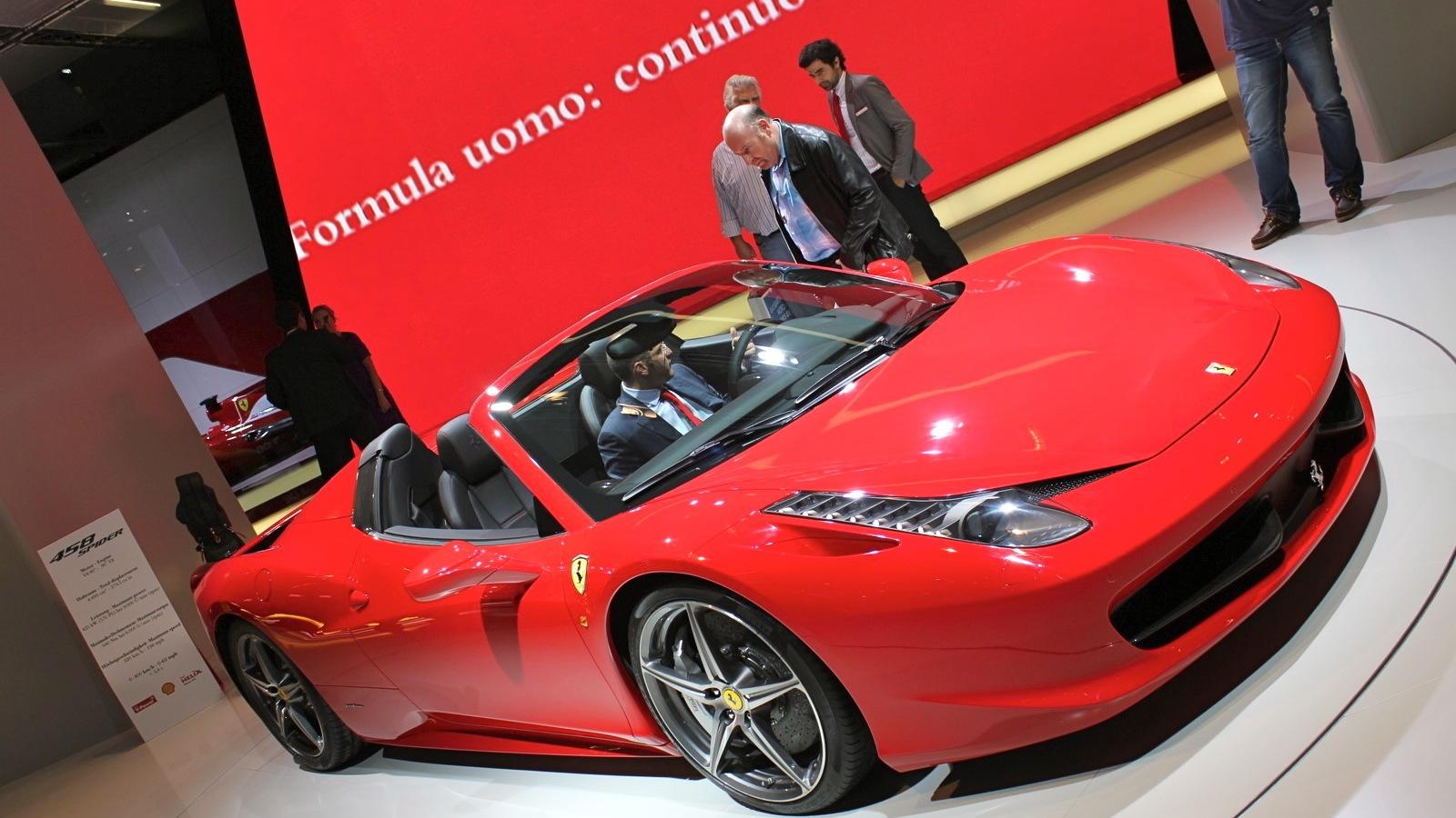 2012 Ferrari 458 Italia Spider
