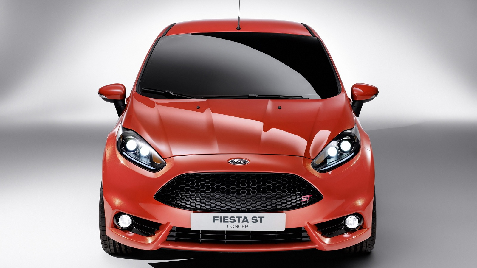 Ford Fiesta ST Concept, to be shown at 2011 Los Angeles Auto Show