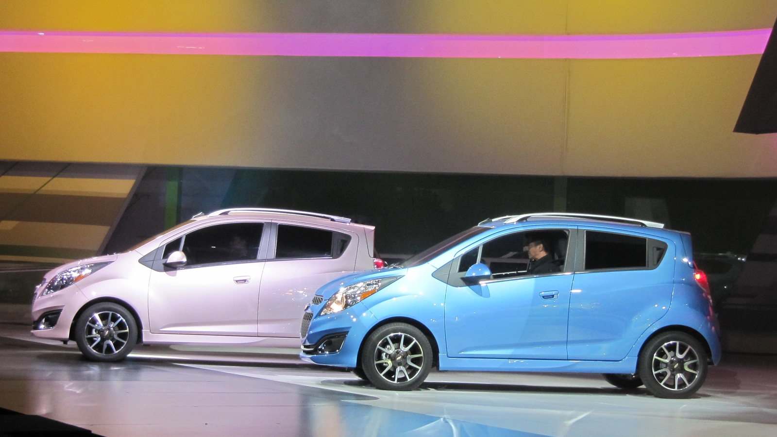 2013 Chevrolet Spark shown at Los Angeles Auto Show, Nov 2011