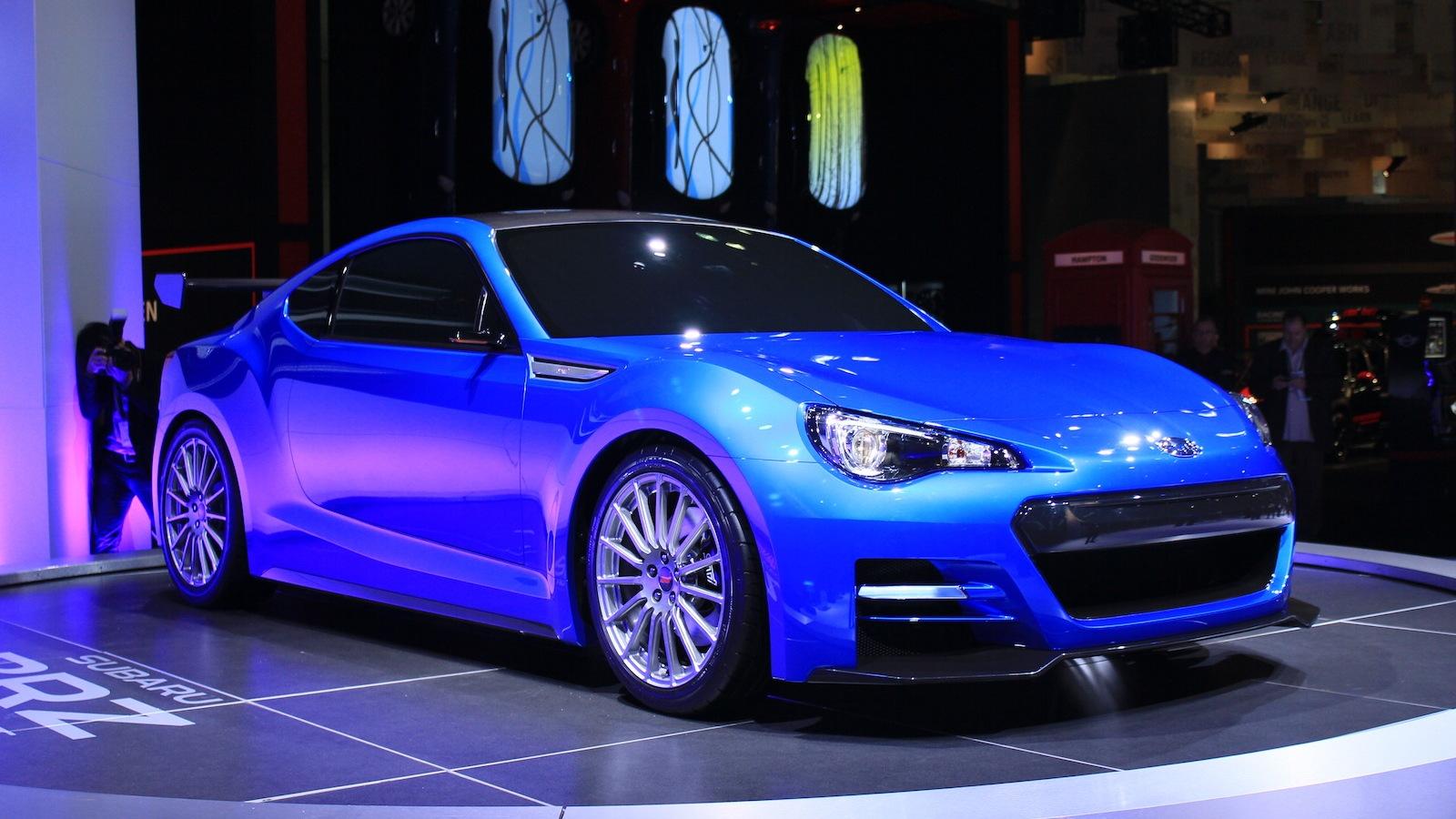 Subaru BRZ STI Concept live photos