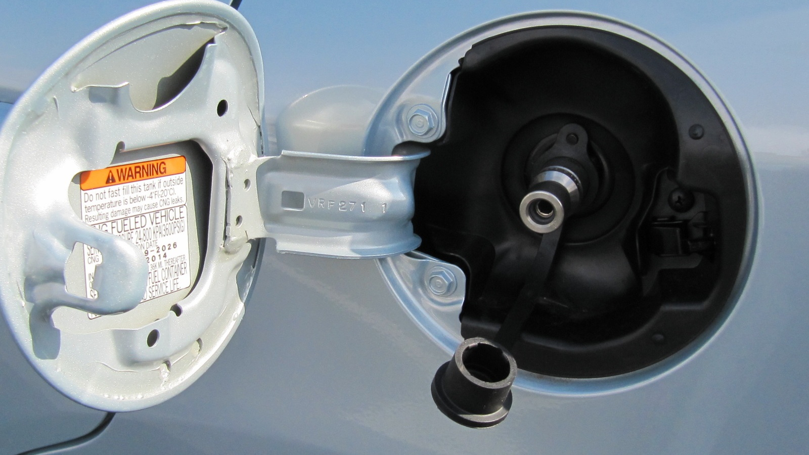 2012 Honda Civic Natural Gas, El Segundo, CA, Nov 2011