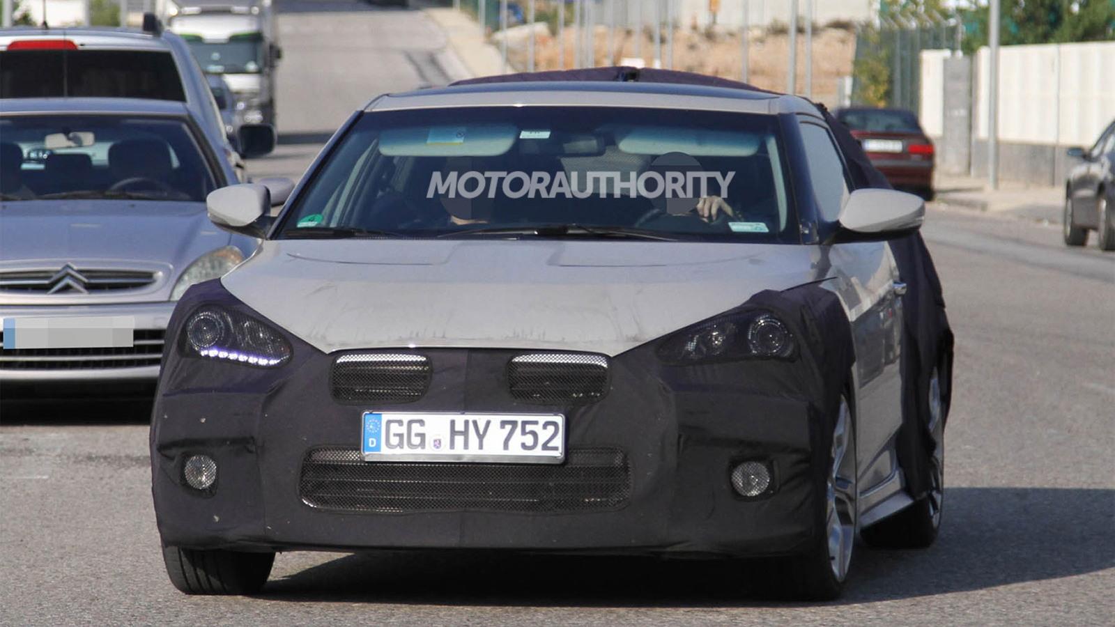 2013 Hyundai Veloster Turbo spy shots