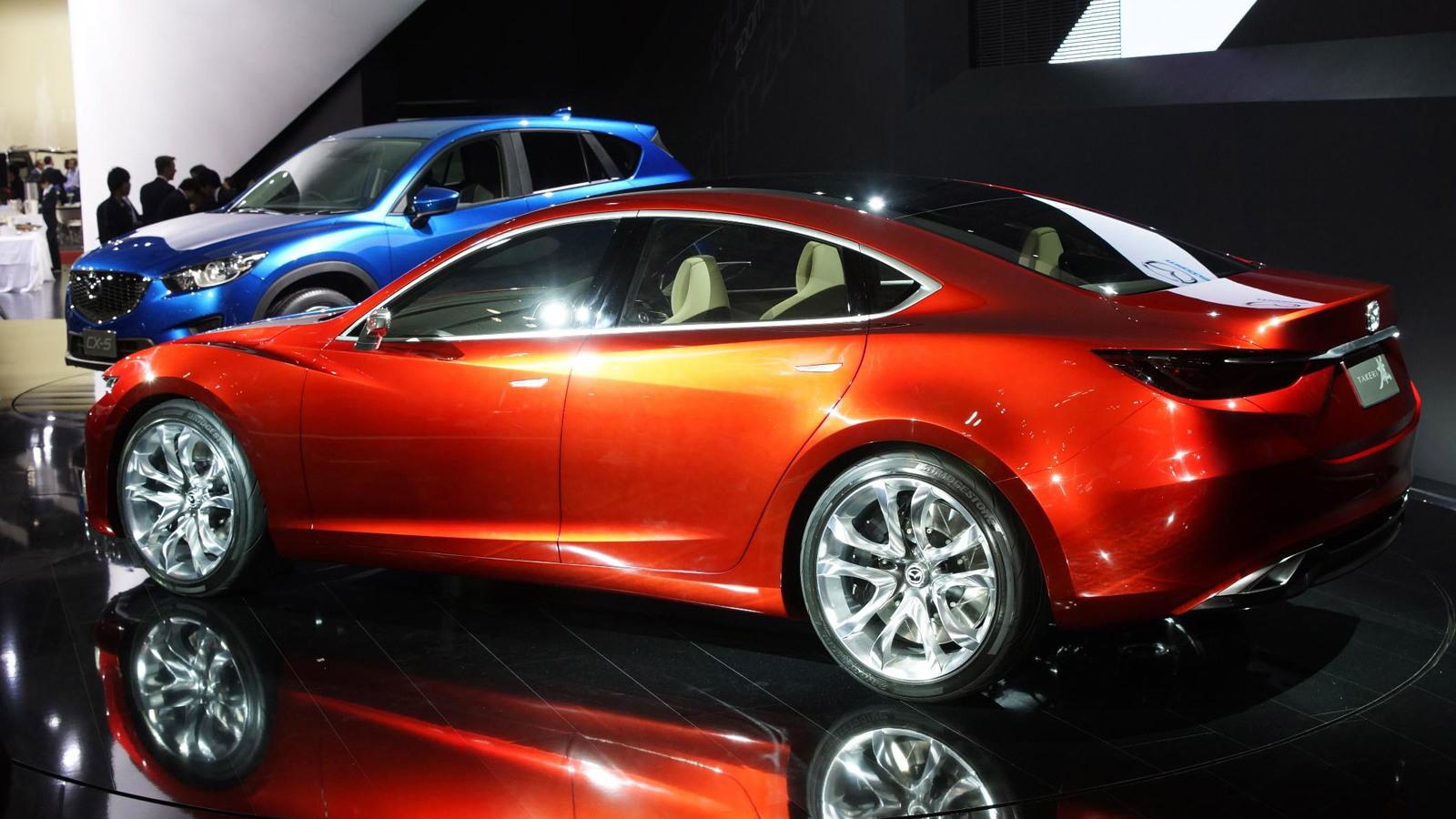2011 Mazda Takeri Concept live photos