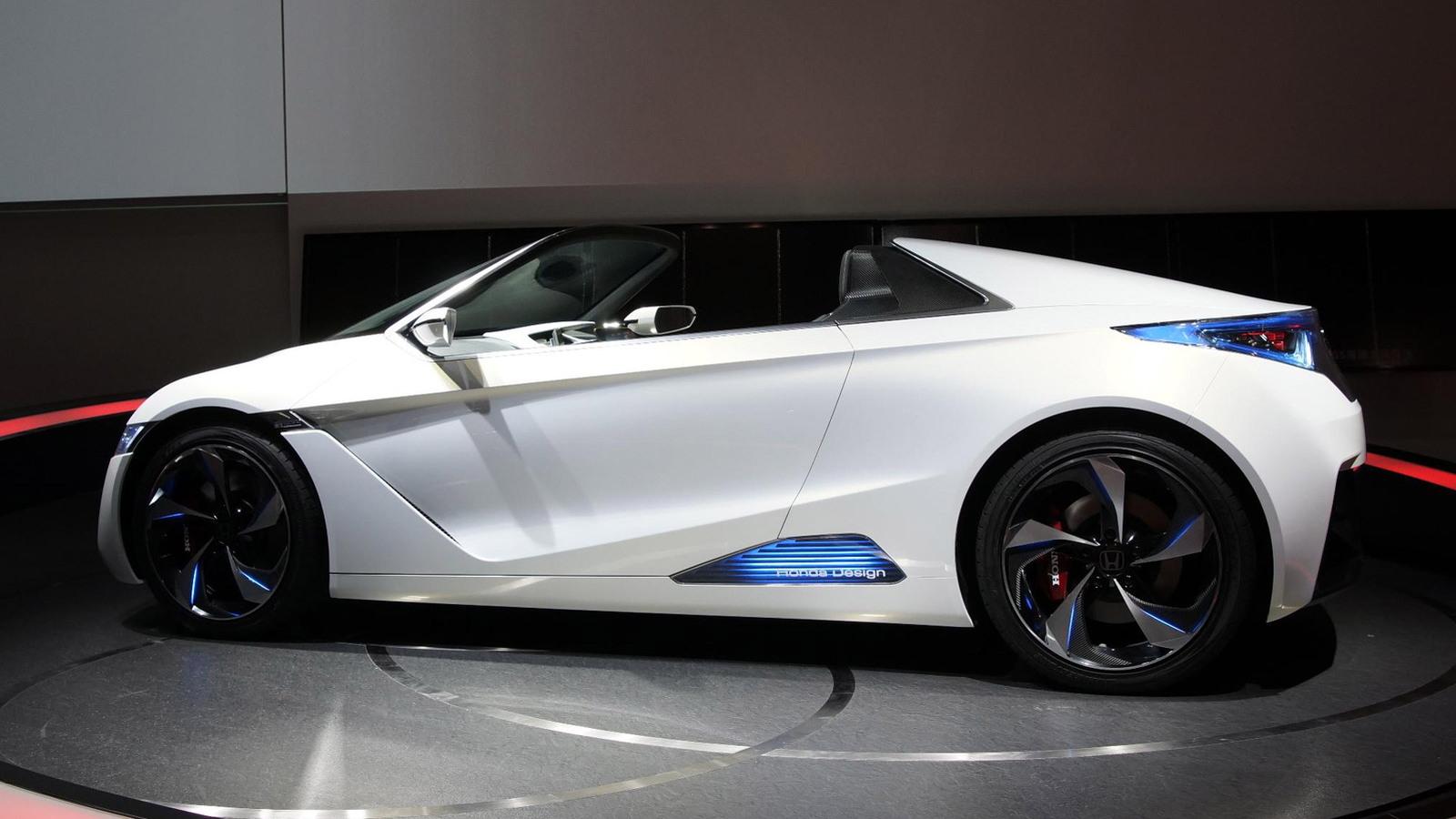 Honda Confirms New Open-Top Sports Car