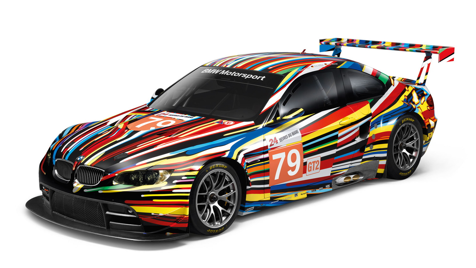 Jeff Koons BMW M3 GT2 Art Car 1:18 scale model